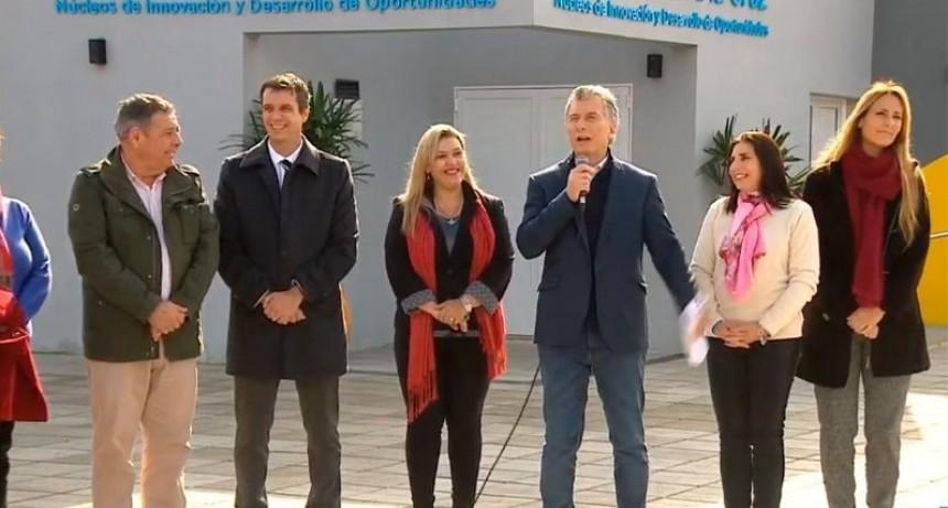 Macri en Concordia: Cresto destacó la articulación entre Nación,  Provincia y Municipio