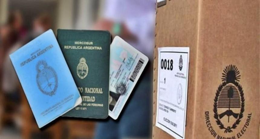 El Registro Civil adelantó cómo se trabajará durante las próximas PASO