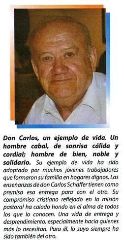 Por siempre Don Carlos Schaffer