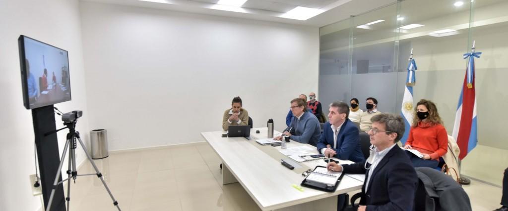 Se gestiona financiamiento ante Nación para obras de infraestructura