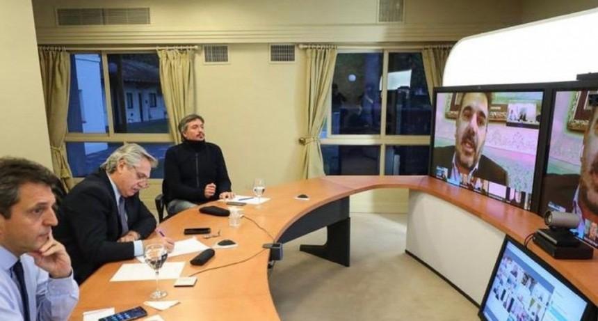 Alberto Fernández y legisladores de Juntos por el Cambio buscaron aflojar la tensión política
