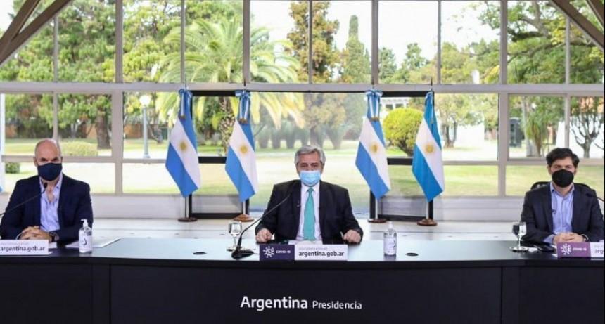 """El Presidente extendió la cuarentena y mencionó a Entre Ríos como una de las zonas donde """"el virus empezó a irradiar"""""""