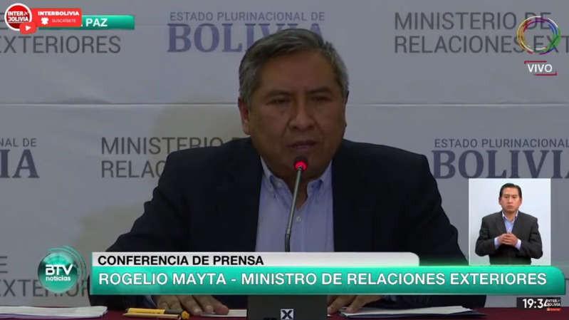 """El Gobierno de Bolivia denunció que la gestión Macri envió """"munición letal"""" a su país en 2019"""