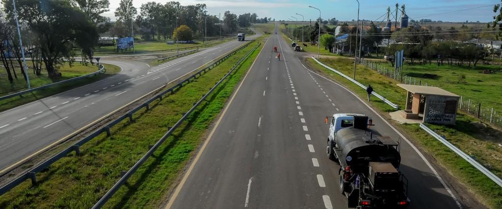 Quedó habilitada la autovía de la ruta 18 entre San Salvador y Concordia