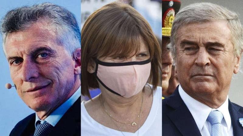 Imputaron a Mauricio Macri, Patricia Bullrich y Oscar Aguad por el envío de armamento a Bolivia
