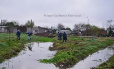 Ante la incesante lluvia el Municipio articula medidas preventivas en los barrios