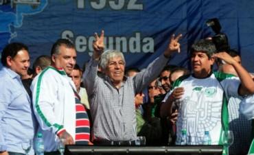 Moyano volverá a ser reelecto en Camioneros