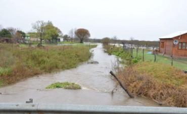 Agrupación del PJ de Federal asistió a familias con problemas de inundación