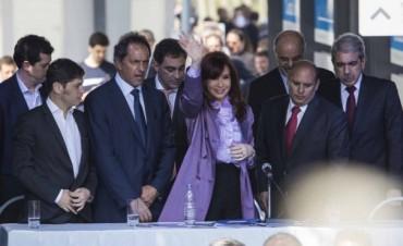 CFK criticó a quienes poner en duda el sistema democrático