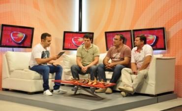 Promocionan la Fiesta del Cuchillero en Canal 9 de Paraná