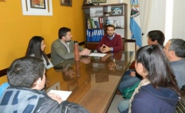 El Intendente se reunió con alumnos y docentes de la Escuela Agrotecnica