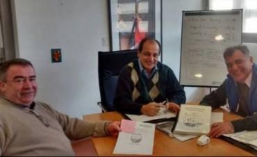 Funcionarios municipales se reunieron con el Coordinador General de la Secretaría de Inversión Pública y Desarrollo Territorial