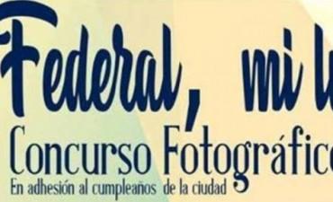 Concurso fotográfico en adhesión al 136º aniversario de la ciudad de Federal