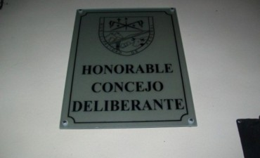 5 temas para una Sesión del H.Concejo Deliberante