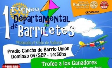 Se viene el 1° Torneo Departamental de Barriletes