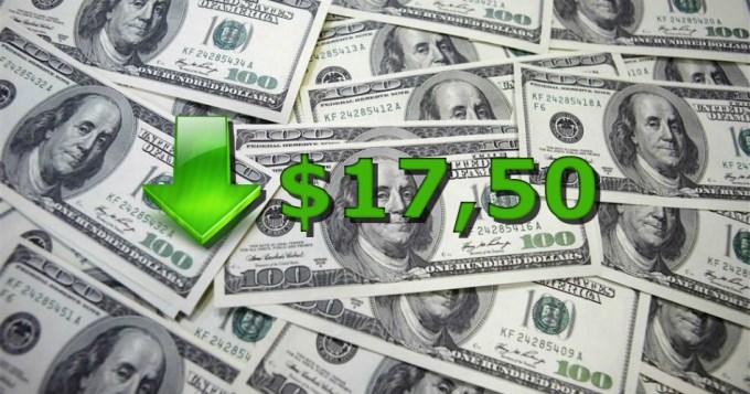 El dólar arrancó la semana para abajo