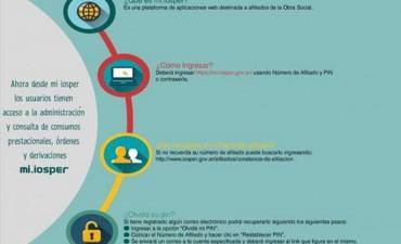 Los afiliados del Iosper podrán gestionar on line su carta de derivación en tránsito