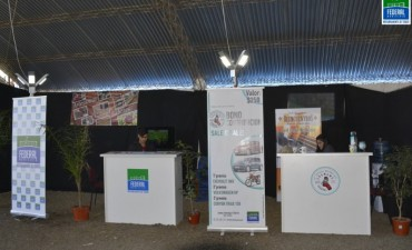 El Municipio estuvo presente con un stand institucional en la expo rural de Federal