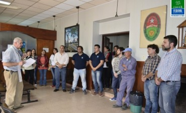 INVOCACIÓN RELIGIOSA Y BENDICIÓN DE LOS EMPLEADOS MUNICIPALES