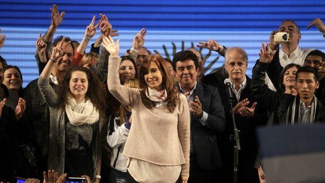 Recuneto Final: Cristina ganó por 20.324 votos