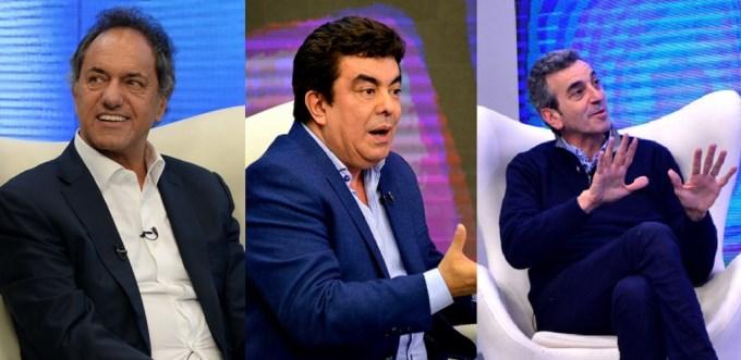 Tres peronistas calentaron las PASO