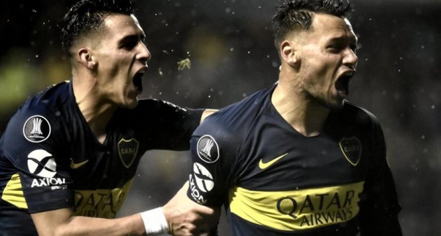 Boca derrotó a Libertad en La Bombonera e inclinó la serie a su favor