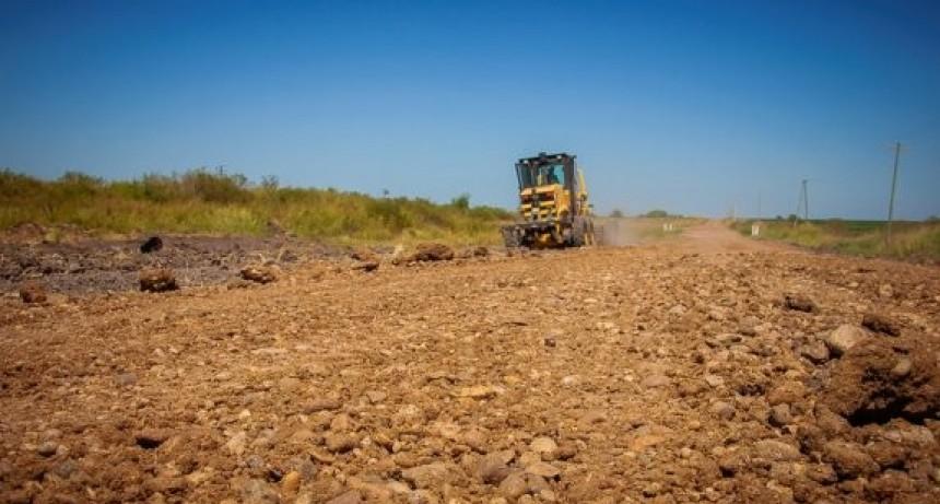 Mejoran las trazas de caminos productivos en el norte entrerriano