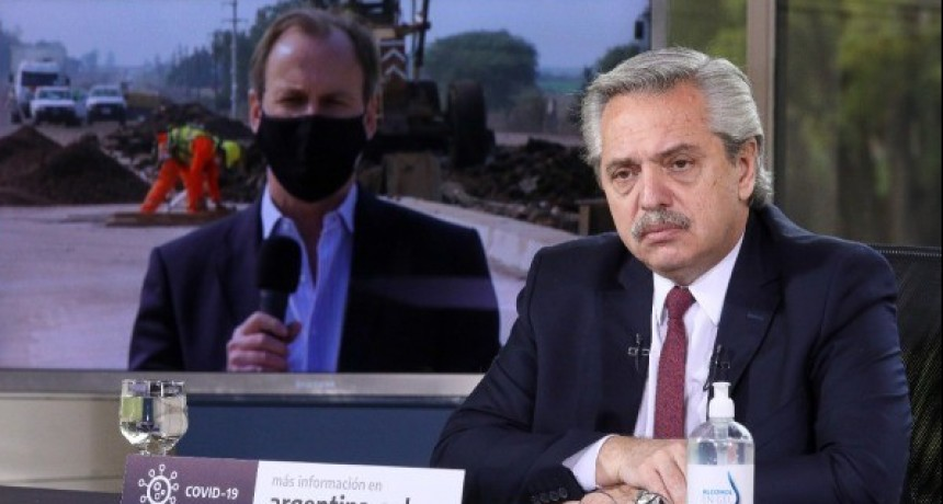 El Presidente anunció la ejecución de obras para Entre Ríos y otras cuatro provincias