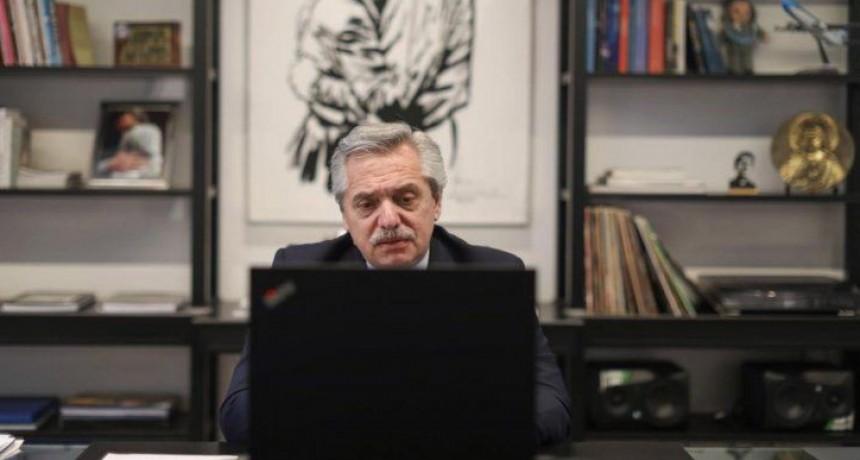 Alberto Fernández le envió una carta a Putin por la vacuna contra el coronavirus