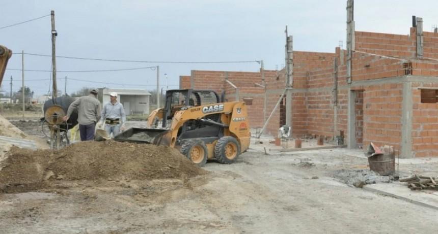 La ejecución de nuevas viviendas progresa en tres localidades entrerrianas, entre ellas Federal