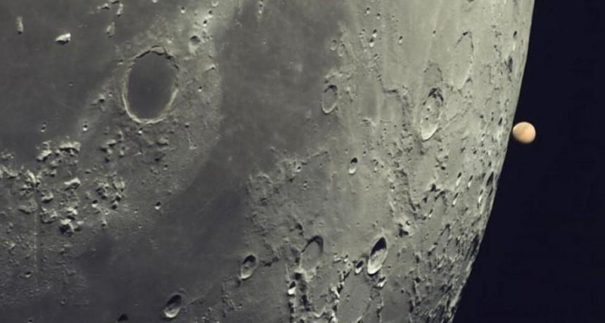 La increíble imagen de la luna que captó un argentino y la NASA eligió como la foto astronómica