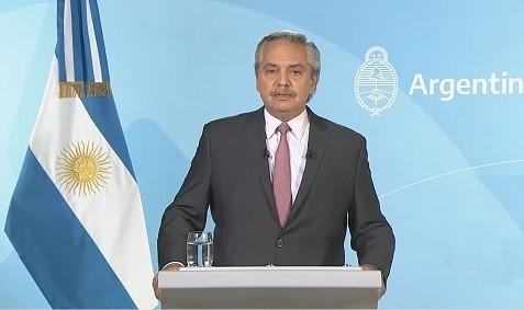 El Presidente, Alberto Fernández,  anunció un plan para la flexibilización de las restricciones en todo el país