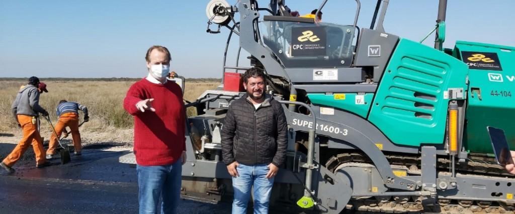 La obra de la autovía que une Paraná con Concordia registra importantes grados de avance