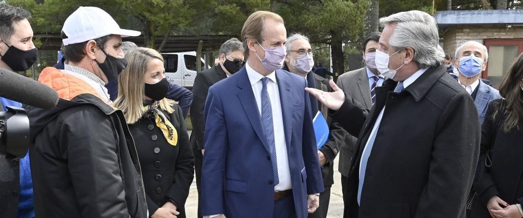 Alberto Fernández y Bordet anunciaron medidas, obras e inversiones para la producción y el trabajo en Entre Ríos