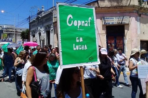 Personal del Copnaf continuará en plan de lucha