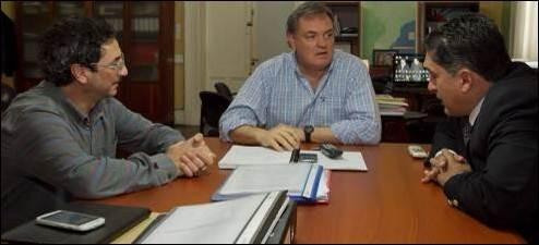 Acordaron plan de trabajo para obra de red de gas en Sauce Luna