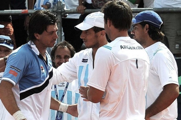 Argentina recibirá de local a Brasil en el debut de la Copa Davis 2015