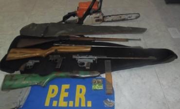 La policía recuperó varios elementos robados