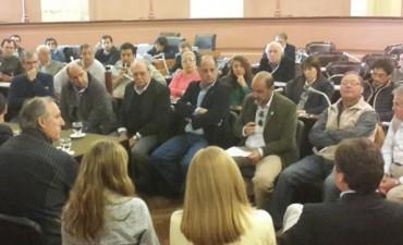 La Mesa de Enlace pidió formalmente a Diputados cambios en la tributaria