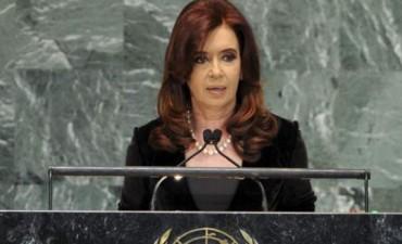 Cristina hablará hoy en Naciones Unidas