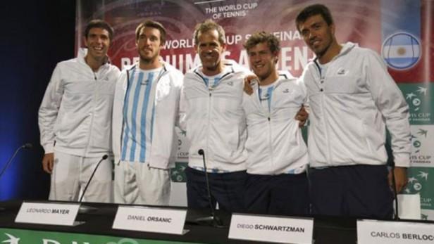 Copa Davis: Federico Delbonis abrirá la serie ante Bélgica