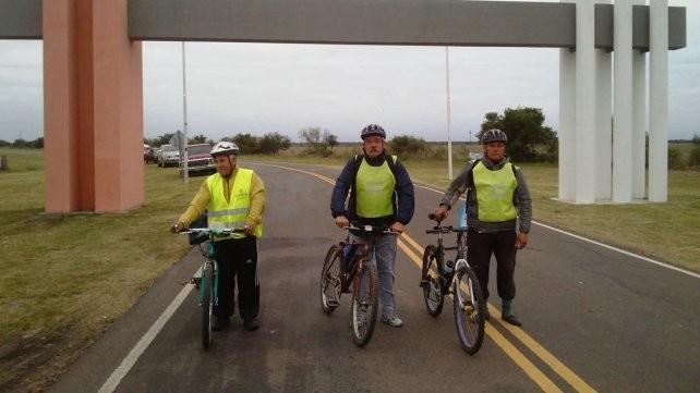Federalense va a pedalear más de 430 kilómetros para venerar a la virgen de San Nicolás