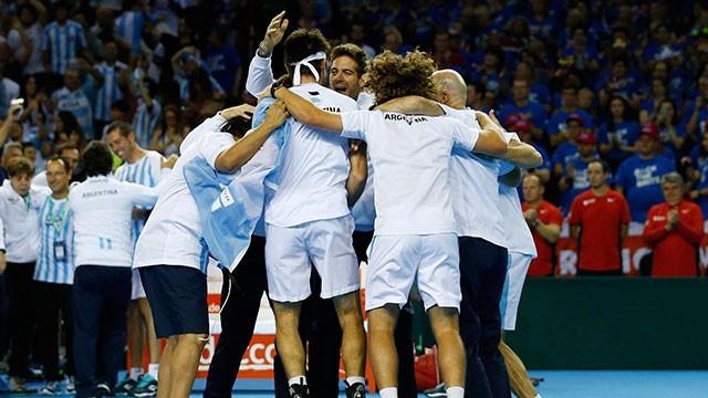 Los días y la sede para la quinta final de Argentina en Copa Davis