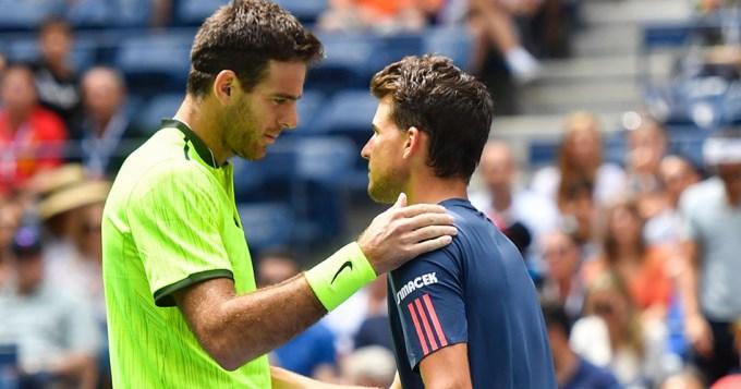 Del Potro ganó por abandono y avanza en el US Open