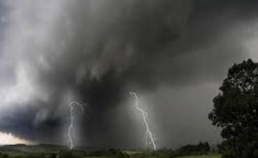 Alerta por tormentas y granizo para una zona de Entre Ríos y otras provincias