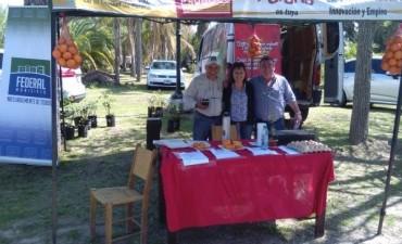 Federal estuvo presente en la primera Feria Exposición Frutihorticola en Parana