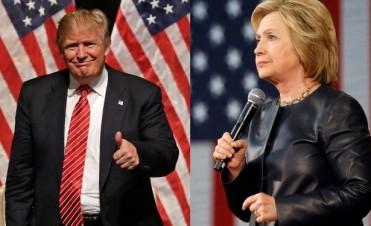 La puja entre Hillary y Trump ya comenzó con el voto anticipado en Estados Unidos