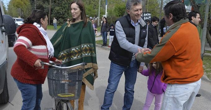 Macri y Vidal, de