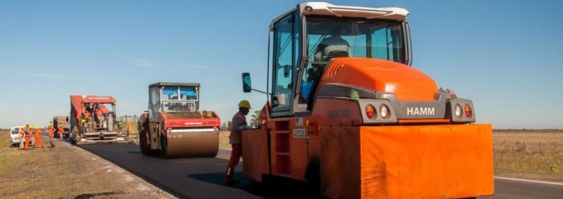 Ultiman detalles para finalizar la obra de rehabilitación de la ruta provincial Nº 32