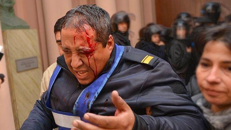 Imputaron por violentos al titular de Federación Agraria, al hermano del senador De Ángeli y a otros gremialistas rurales